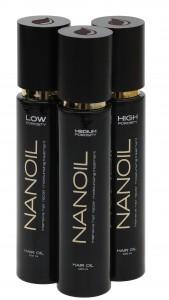 Olejek do włosów Nanoil Hair Oil w trzech wersjach